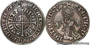 S6789 Très Rare Suisseswitzerland Évêché De Genèvre Obole Argent Silver