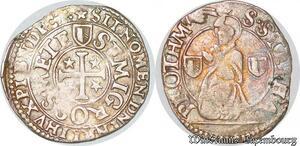 S6791 Rare Metz demi-gros (1647-1659) Metz Argent Silver ->Faire Offre
