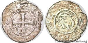 S6795 Très Rare Suisse switzerland Évêché De Genève Obole Argent Silver