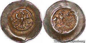 S6816 Alsace denI embouti Adlerpfennig Hohenstaufen Strasbourg 1224-1247