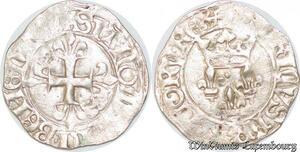 S6880 Henry V Lancastre 1415-1422 Gros florette 1ère émission Rouen Billon