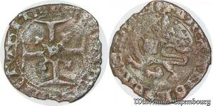 S6881 Rare Henri V niquet ou léopard Rouen ->Faire Offre