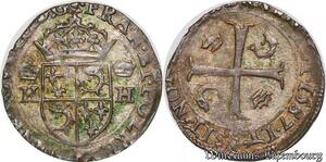S6927 Henri III Douzain du Dauphiné 1er type 1587 Z Grenoble ->Faire Offre
