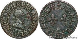 S6936 Henri III La Ligue denI tournois, s.d. 1589-1590 A Paris ->Faire Offre