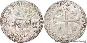 S6939 Ligue Catholique Charles 'X' de Bourbon Douzain 1593 A Paris