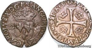 S6940 Ligue Catholique Charles 'X' de Bourbon Douzain 1593 P Dijon