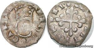 S6959 Très Rare Charles IX Liard au C 1574 P Dijon ->Faire Offre