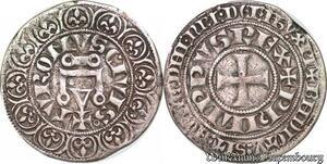 S7011 Rare Philippe IV Gros tournois à l'O long ->Faire Offre