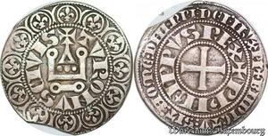 S7024 Rare Philippe IV Gros tournois à l'O long ->Faire Offre