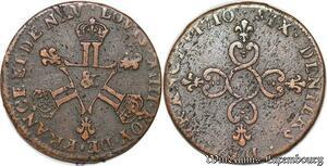 S7033 Six denIs Louis XIV Dardenne 1710 & Aix-en-Provence