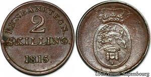 S7213 denmark 2 Skilling 1815 Frederik VI ->Make offer