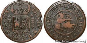 S7450 Espagne Spain 4 maravedis Philippe V 1720 ->Make offer