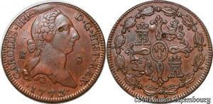 S7451 Espagne Spain 8 maravedís Carlos III Segovia 1773 ->Make offer