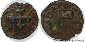 S7511 Rare ¼ 1/4 sol Charles-Emmanuel 1er Duc de Savoie Chambery 1591 TTB