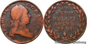 S7537 Austrian Netherlands 2 Liards Franz II Oorden 1793 ->Make offer