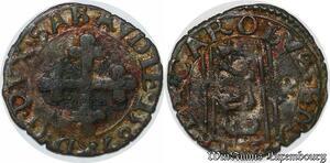 S7541 Rare ¼ 1/4 sol Charles-Emmanuel 1er Duc de Savoie chambery 1594 TTB