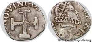 S7543 Scarce Italian States Naples The Spanish Kings Carlino Philip III Silver