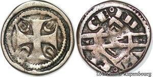 S7819 Rare HainautJeanne de Constantinople Little denI Valenciennes