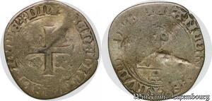 S7834 Louis XI blanc à la couronne Argent Silver ->Faire Offre