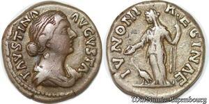 S4005 DenI Faustina Augusta Ivnoni Reginae Rome 147-176 Silver >M offer