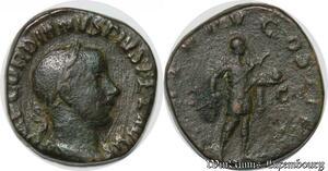 S4060 Sesterce Gordien III Rome 241 Imp Gordianvs Pivs Fel Avg - Faire Offre