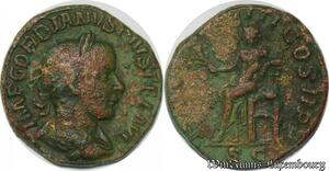 S4073 Sesterce Gordianus III 238-244 Gordianus Rome 242 PM TRP VII COS II PP