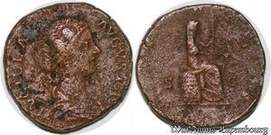 S4087 Romaine Sesterce Lucilla Augusta A identifI - Faire Offre