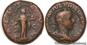 S4091 Philip I 244-249 AD (23mm, 9.66 g, 1h) Struck 244 AD IMP M IVL Philippvs