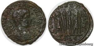 S4101 Romaine  Follis Nummus à identifI Constantine II ->Faire Offre