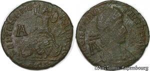 S4102 Romaine  Follis Nummus à identifI constantivs Lettre A