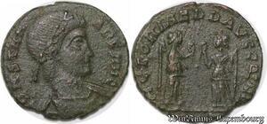 S4110 Romaine  Follis Nummus à identifI Constantinvs ->Faire Offre