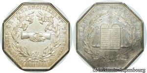 S2171 Jeton Notaires Troyes Aube Bae 1823 Argent Silver SPL - Faire Offre