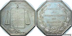 S2192 Jeton Notaires de l'aondissement PithivIs Loiret Argent Silver SPL =