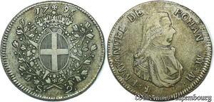 S2435 Malta 2 Scudos 1796 Emmanuel de Rohan Polduc 1775 - 1797 Argent