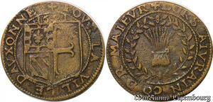 S2995 Token R3 Louis XIII Iurain Maire Maieur Auxonne 1621 - Faire Offre