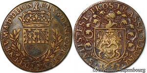 S3096 Rare Jeton Token Etienne Humbert Maire Vicomte Maïeur Dijon 1627
