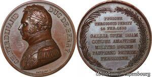 S3321 Médaille Charles Ferdinand Duc De Bey 1824 Gayrard - Faire Offre