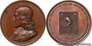 S3329 Médaille Piee Fermat Académie Sciences Belles LetTrès De Toulouse 1746