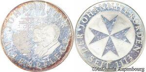 S3397 Medal Malte Johanniter Alt.Der Johanniterorden Seit 1113 coins Proof PF