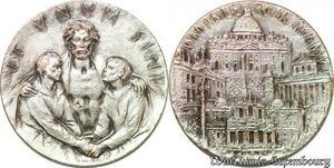 S3414 Médaille Vatican Italy Ut Unum Sini Annojubilaei Romae 1975