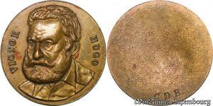 S3447 Médaille Uniface Victor Hugo CDB - Faire Offre