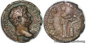 S3971 DenI Hadrien Salvs 137 Hadrianvs Avg Cos III P P Rome Silver >M Offer