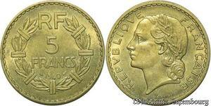 S310 5 Francs LavrillI 1940 Superbe -> Faire Offre