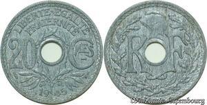S328 20 Centimes Lindauer 1945 -> Faire Offre
