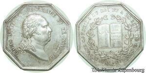 S602 Jeton Louis XVIII Avocats Conseils Roi Cassation Andrieu Silver SPL