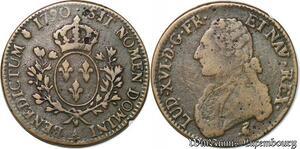 S943 Rare Faux Ecu Louis XVI 1790 A Paris 2nd Semestre ->Faire Offre