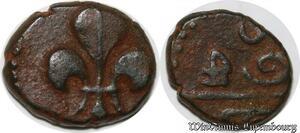 S1019 Indes Francaises Doublon de Cuivre Pondichery Louis XV -> Faire Offre