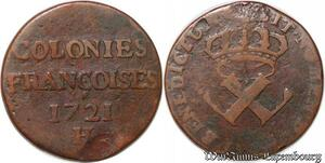 S1027 USA Colonies 9 DenIs H Louis XV 1721 -> Faire Offre