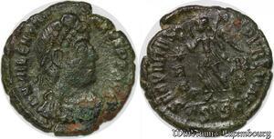 S1461 Valentinien Nummus 364 367 Siscia Secvritas Reipvblicae Asisc