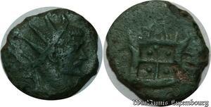 S1520 Claude II le Gothique Antoninien 271 Divo Clavdio Autel ->Make offer
